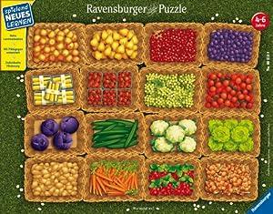 Ravensburger Spiel 06518 - Puzzle (32 Piezas), diseño de Frutas y Verduras