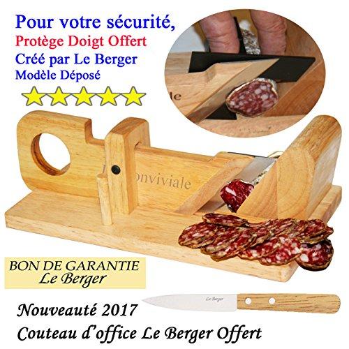 Affettatrice per salame La Conviviale + coltello da picnic in omaggio