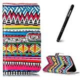 """Moto G5 Plus 5.2"""" Case,Motorola Moto G5 Plus Leather Flip Case,Slynmax Ultra Slim Fit Lightweight Bookstyle Fashional Oil Painting Design Flip Phone Cover Folio Premium PU Leather Case Wallet for Women Girl with Stand Function Credit Card Holder ID Slots Cash Pocket Magnetic Closure Durable Shockproof Protective Case Silicone TPU Inner Smart Shell for Motorola Moto G5 Plus+ 1* Stylus Pen"""