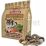 Country Mix Chinchilla Nager Futter Menü Müsli komplett Premium Alleinfutter 500