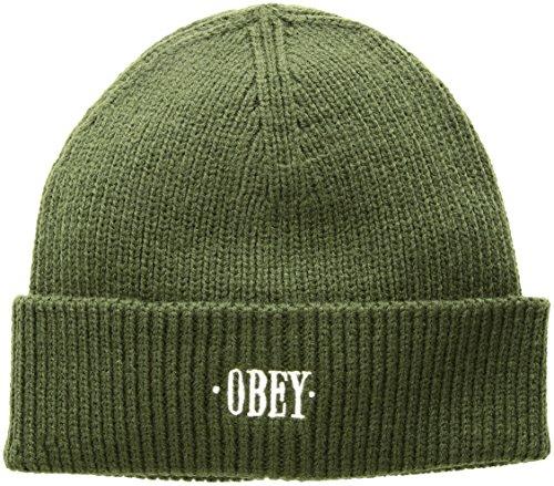 Imagen de accessori cappello obey shady beanie 100030119 os  army