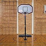 COSTWAY 305cm Basketball Stand, Pro Freestanding Basketball Set, Fully Adjustable Portable Hoop Net