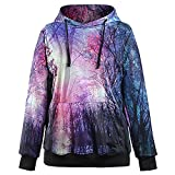 DioKlen - Galaxy Frauen Hoodies Sweatshirt Mode Moletom Anzug Au