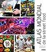 Atlas mondial de la street food par Quinn
