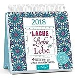 Cover of: Lache, Liebe, Lebe 2018: Postkartenkalender |