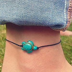 ccxx Fußkettchen Luxus Europa und Amerika Frau Neu Tier Schildkröte Form Fußkette Kreativ Persönlichkeit Mode Frauen Schmuck
