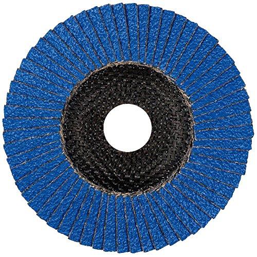 "Tyrolit 115mm (41/2"") zirconi Flap dischi assortiti P40, P60, P80e P120confezione da 20."