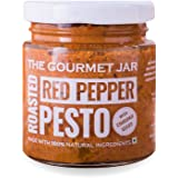 The Gourmet Jar Roasted Red Pepper Pesto (with Chironji Seeds), 190 g