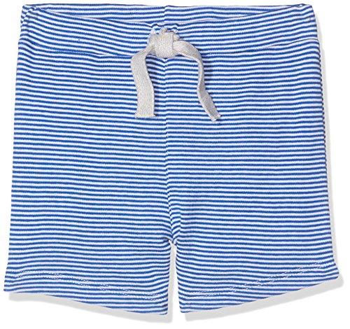 Petit Bateau Baby-Jungen Shorts 28823, Mehrfarbig (Perse/Marshmallow 48), 86 (Herstellergröße: 18m/81cm)