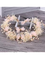 Bride coiffure coiffure couronne mariage boutique de cheveux accessoires de mariage