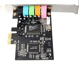 Magideal Pci Express Pci E5 1 Kanal 3d Audio 6 Kanal Elektronik