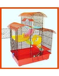 Jaula de Hámster Belmont grande Multi Level ratón)