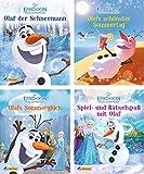 Nelson Mini-Bücher: 4er Disney Die Eiskönigin: Olaf der Schneemann 1-4