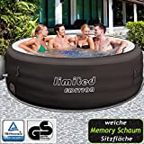 Bestway Lay-Z-Spa Limited Whirpool, mit Filterpumpe, beheizter Pool Outdoor, Ø 196 cm