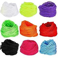Idea Regalo - Blulu Yoyo Cordino Cordicella Multi-colore, 90 Pezzi