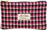 Vagabond Bags Harris Tweed Pink Coin Purse Kulturtasche, 19 cm, (Pink Check)