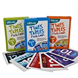 Kippson Times Tables Flash Cards with Memory Cues