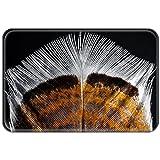 Violetpos Fußmatte 40 x 60 cm Feder Jahrgang Fußmatten / Sauberlaufmatte für Innen & Außen