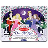 Melissa & Doug Dance All Night Princess Magnetic Tin Set, Multi Color