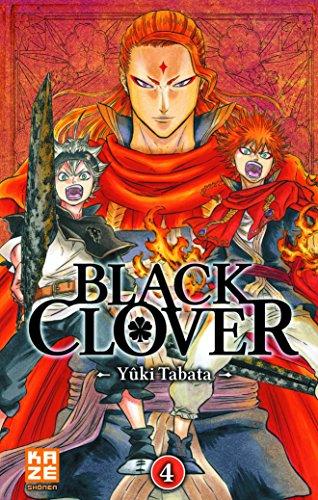 Black clover (Tome 4) : Le Lion flamboyant