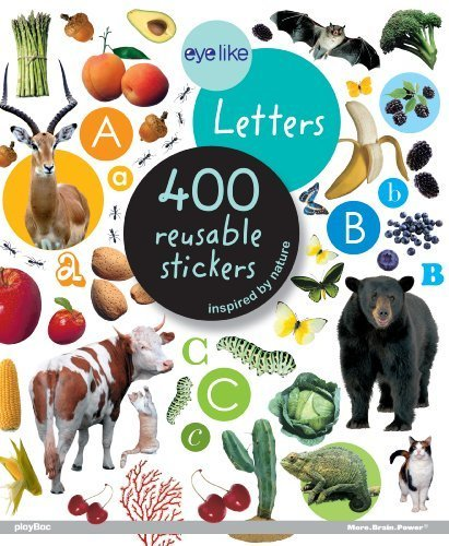 Eyelike Stickers: Letters by Workman Publishing (2011) Paperback