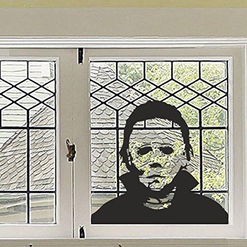 wandaufkleber 3d schlafzimmer Michael Myers Halloween Vinyl Wall Sticker Decal Horror Party Decal(18