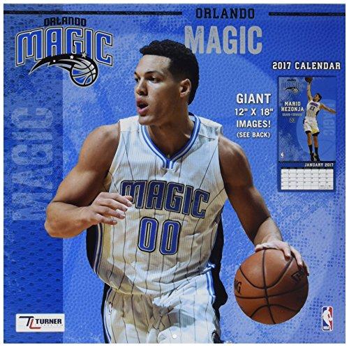 Turner Licensing Sport 2017 Orlando Magic Team Wandkalender, 30,5 x 30,5 cm (17998011890)