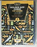 20 Cardboard Gold Golden Age Comic Book Top Loaders Archival Safe by Cardboard Gold