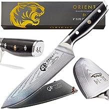Chef coltello giapponese, 20,3cm–VG10ultra tagliente in acciaio damasco, Best Professional–coltelli da chef 67strato cuochi, confezione regalo e guaina