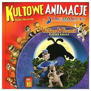 Wallace & Gromit in The Curse of the Were-Rabbit [DVD]+[KSIĄŻKA] [Region 2] (IMPORT) (Pas de version française)