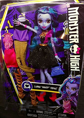 Monster High - I Love Fashion Djinni Whisp Grant New - Love Monster I Fashion High