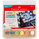 Faber Castell Paint By Number Museum Series The Starry Night By Vincent Van Gogh