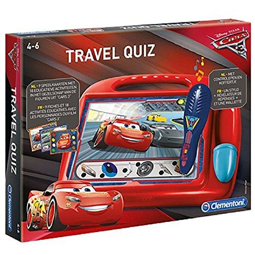 Clementoni 0619030 Cars 3 Travel Quiz (In Holländisch) (Disney Princess Quiz)