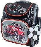 Delune Premium Geländewagen 3-117 Schulrucksack Kinderrucksack Jungen Taschen Rucksack