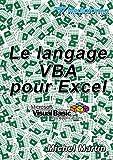 Le langage VBA pour Excel