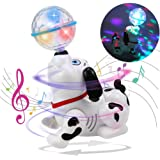 Toyshine Dancing Dog with Music, Flashing Lights (Battery Included),Plastic,Multi color(Pack of 1)
