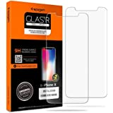 iPhone X, iPhone Xs, Spigen Screen Protector Tempered Glass / 2 Pack