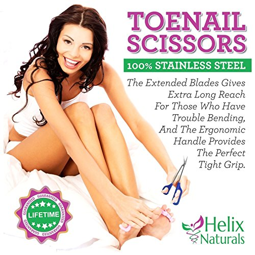 Tresalto Long Handled Toenail Scissors and Clippers for Thick Nails
