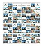 Trendfinding Fotovorhang 10 x 15 cm Hochformat und Querformat Foto Bilder Postkarten Format Fotowand Fotogalerie Fototaschen Fotohalter Taschenvorhang Fotos (96 Fotos Querformat 10x15)