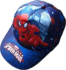 CAPPELLO ESTIVO SPIDERMAN MARVEL SUPEREROE CON VISIERA TAGLIA UNICA - 45367/2