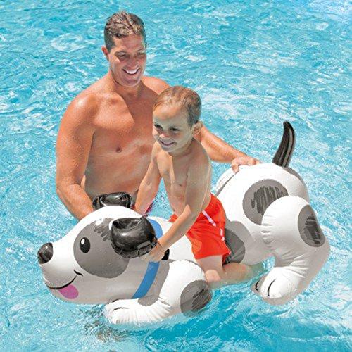 Preisvergleich Produktbild Kinder Intex Puppy Hund Rutscher Float Schwimmhilfe Pool Fun luftobjekte