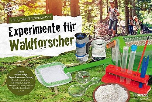 Die große Entdeckerbox: Experimente für Waldforscher