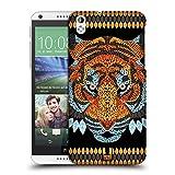 Head Case Designs Tiger Tier Blatt Mosaik Ruckseite Hülle