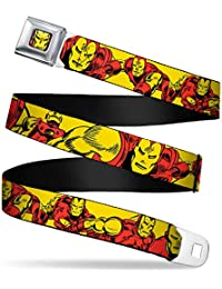 Marvel Hero Iron Man in Action Auto Seatbelt Buckle Strap Belt