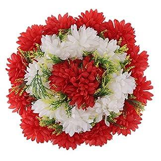 B Blesiya Artesanía Artificial Clavel Arreglos Florales Tumba Cementerio Guirnalda Flor