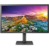 LG UltraFine 24MD4KL-B, Moniteur dédié Apple IPS UHD 4K 24'' (3840x2160, 14ms, 540cd/m², DCI-P3 98%, Thunderbolt 3 x2, USB-C