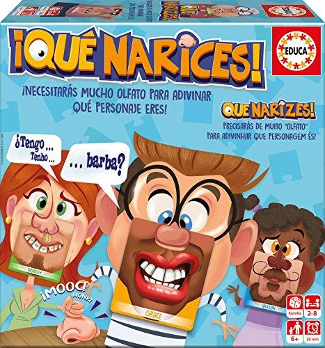 Educa Borrás Narices, juego de preguntas (16988)
