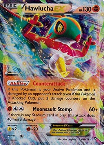 Pokemon Hawlucha Ex Furious Fists 64 111