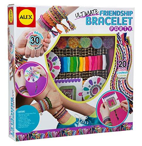 Alex - Kit de pulseras de la amistad (Juratoys 137X)