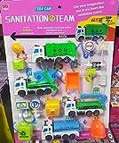#8: Tickles Die Cast Pull Back Vehicles Truck Set Model Kids Toy